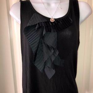 Ann Taylor dress black top